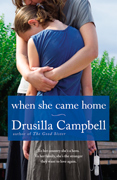 Cover Image of When She Came Home - Mother holding older child close